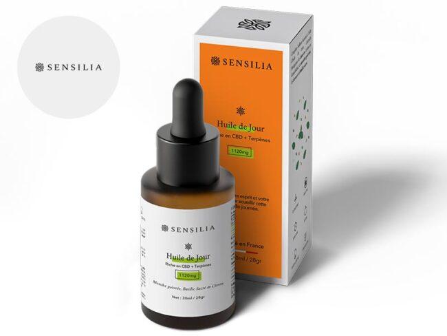 Huile CBD 4% Bio (30ml) - Sensilia