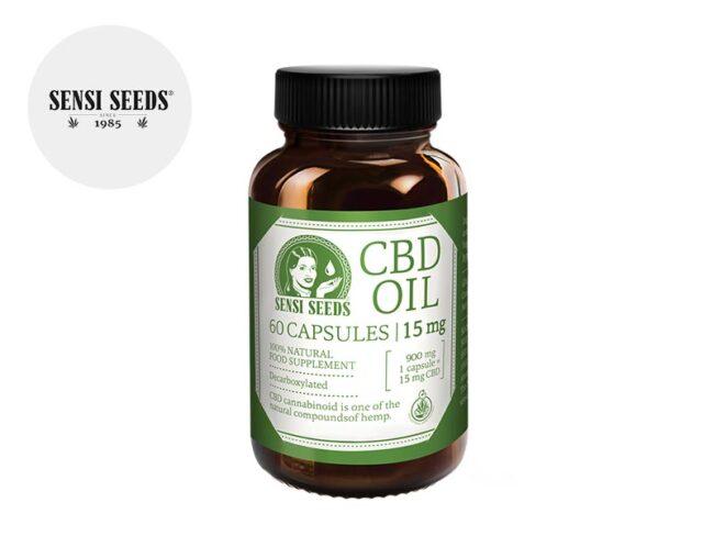 Gélules CBD 900mg - Sensi Seeds