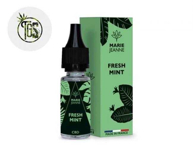 E liquide Fresh Mint CBD (100mg) - Marie Jeanne