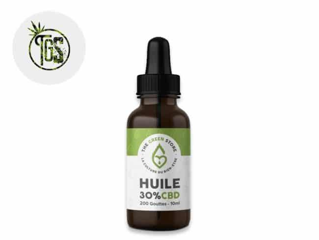 Huile CBD 30% Bio (10ml) - The Green Store