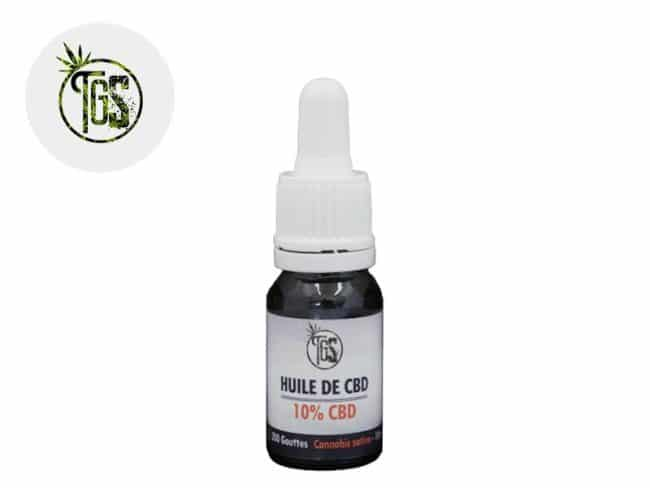 Huile CBD 10% Bio (10ml) - The Green Store