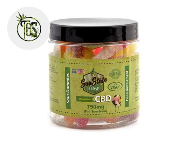 Bonbons Tétine Acidulées CBD (Sunstate)