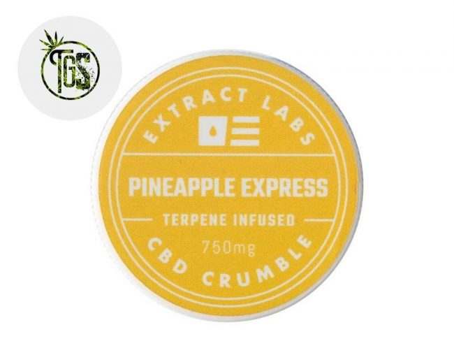 Crumble 75% CBD - Extract Labs
