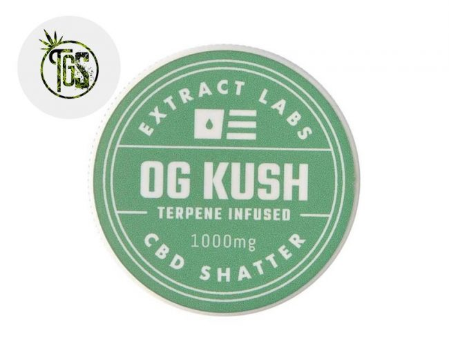 Shatter 97% CBD - Extract Labs