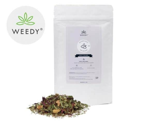 Infusion CBD Rooibos Night - Weedy