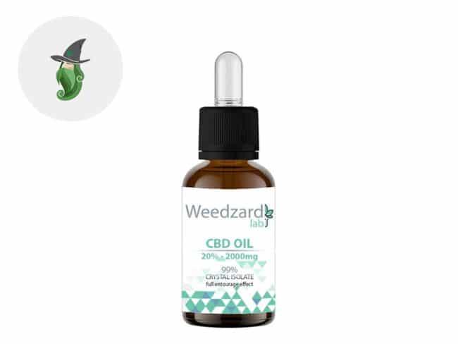 Huile CBD 20% Bio (10ml) - Weedzard