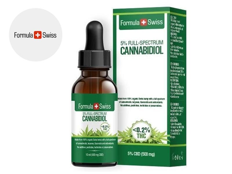 formula swiss huile cbd