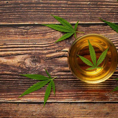 thé au cannabis légal